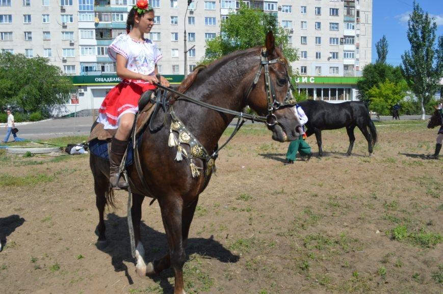 В Северодонецке выступил областной казачий конный театр (ФОТО), фото-3