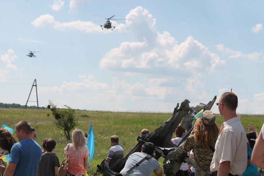 """У Пришибі відбулось відкриття меморіалу загиблим над Слов'янськом льотчикам """"Скорботний янгол"""", фото-17"""