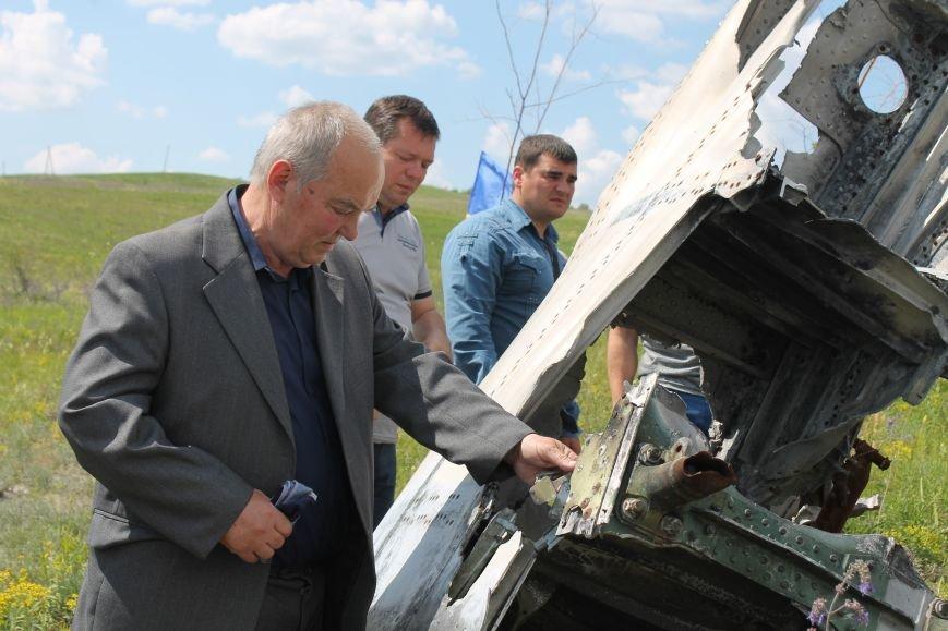 """У Пришибі відбулось відкриття меморіалу загиблим над Слов'янськом льотчикам """"Скорботний янгол"""", фото-15"""