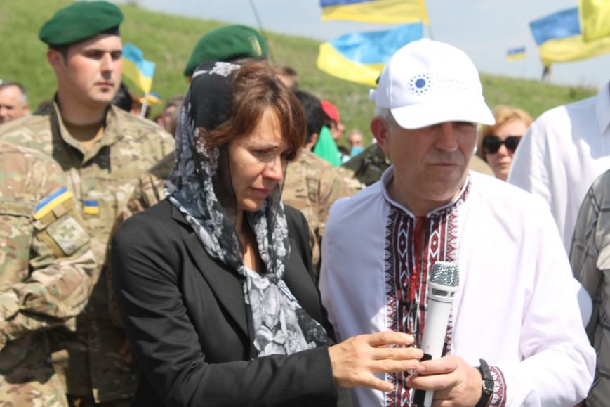 """У Пришибі відбулось відкриття меморіалу загиблим над Слов'янськом льотчикам """"Скорботний янгол"""", фото-18"""