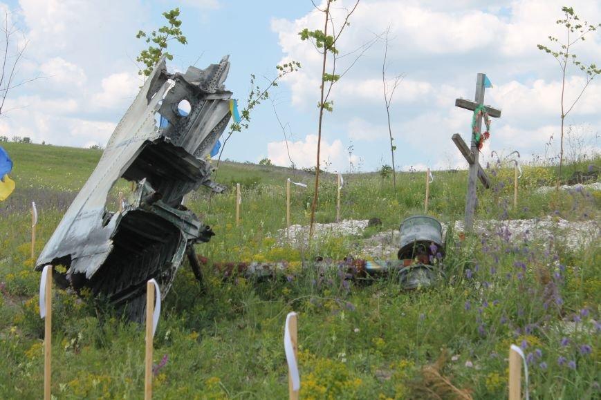 """У Пришибі відбулось відкриття меморіалу загиблим над Слов'янськом льотчикам """"Скорботний янгол"""", фото-7"""