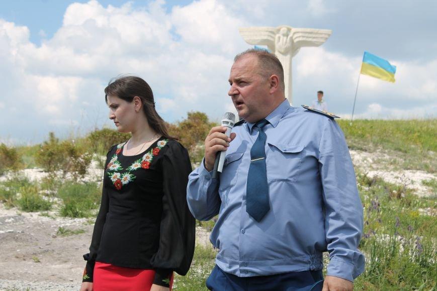 """У Пришибі відбулось відкриття меморіалу загиблим над Слов'янськом льотчикам """"Скорботний янгол"""", фото-12"""