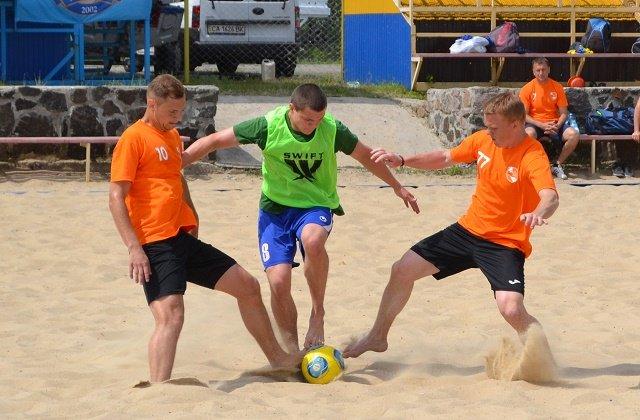 Пляжний футбол-1