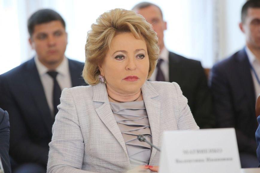 Аксёнов поддержал предложение Матвиенко придать Ливадийскому форуму более высокий международный статус (ФОТО), фото-5