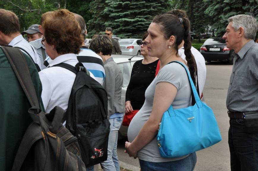 В Краматорске начался митинг переселенцев (ВИДЕО), фото-2