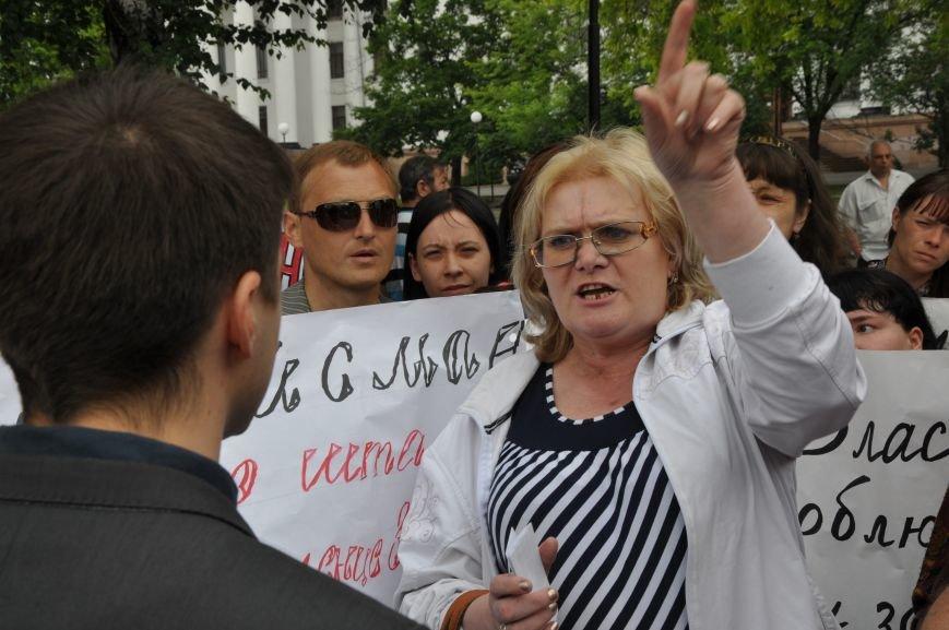 В Краматорске начался митинг переселенцев (ВИДЕО), фото-11