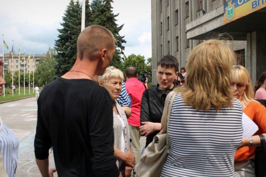 Надежда Савченко приехала в Славянск (ВИДЕО), фото-2