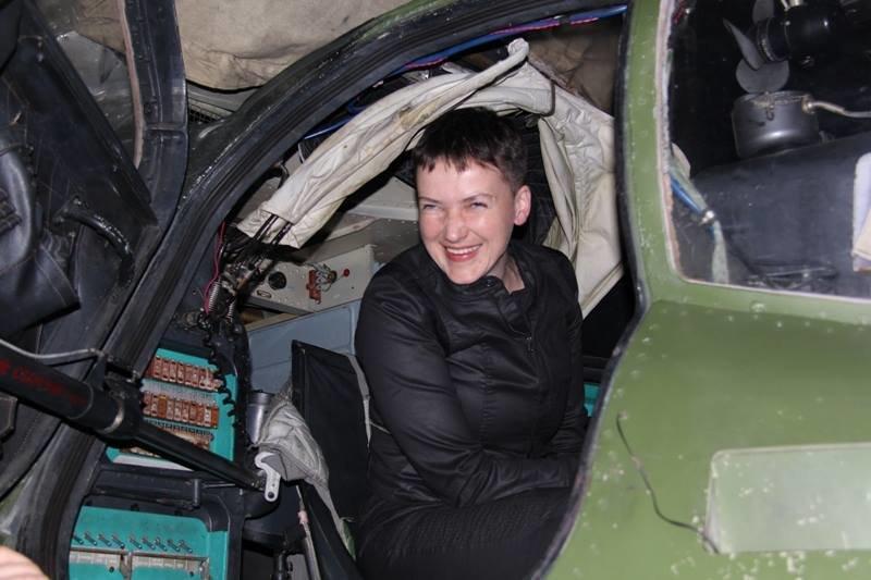 Савченко побывала в зоне АТО на Донбассе (ФОТО), фото-10