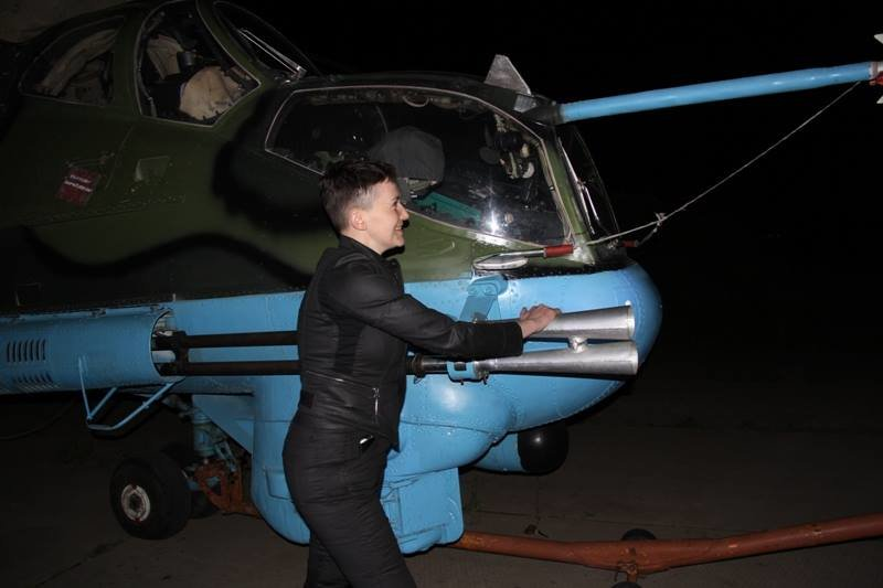 Савченко побывала в зоне АТО на Донбассе (ФОТО), фото-5