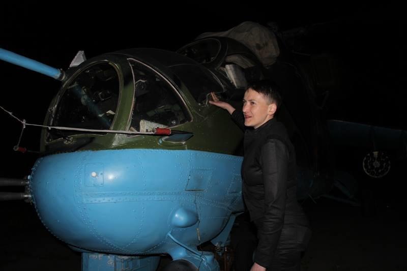 Савченко побывала в зоне АТО на Донбассе (ФОТО), фото-6
