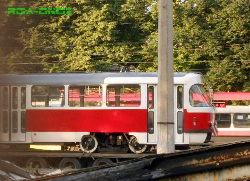 В Каменское после капремонта вернулся первый трамвай Tatra T3SU, фото-2