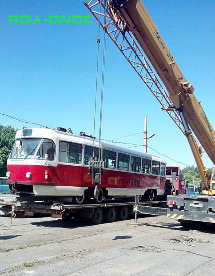 В Каменское после капремонта вернулся первый трамвай Tatra T3SU, фото-1
