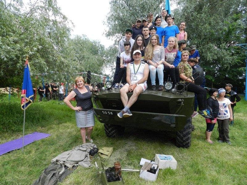 Спасатели приняли участие в областном этапе военно-патриотической игры «Сокол» («Джура») (фото), фото-3