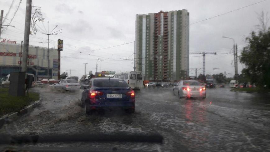 В Ульяновске затопило Московское шоссе. ФОТО, фото-3