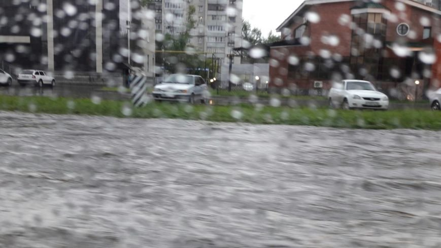 В Ульяновске затопило Московское шоссе. ФОТО, фото-4
