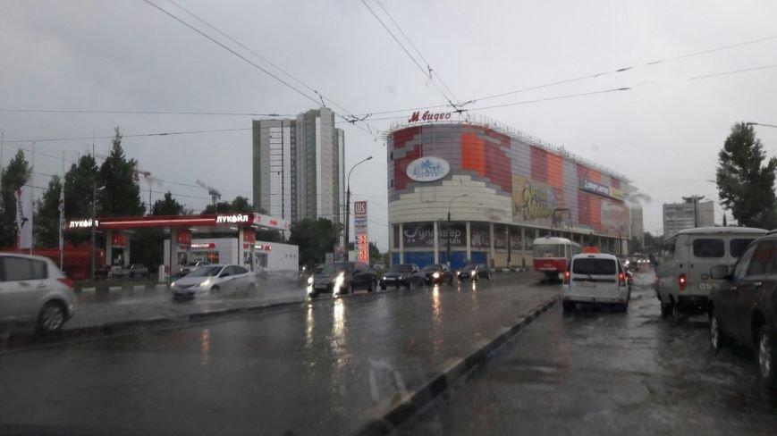 В Ульяновске затопило Московское шоссе. ФОТО, фото-1