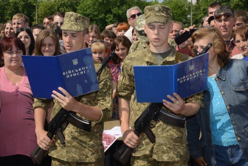 Полторы тысячи призывников приняли присягу в Черниговской области, фото-10