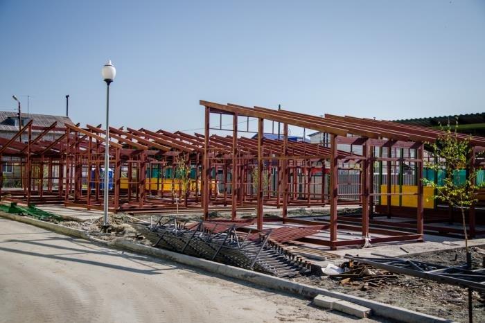 Мэрия Южно-Сахалинска установила жесткие сроки окончания строительства детского сада, фото-1