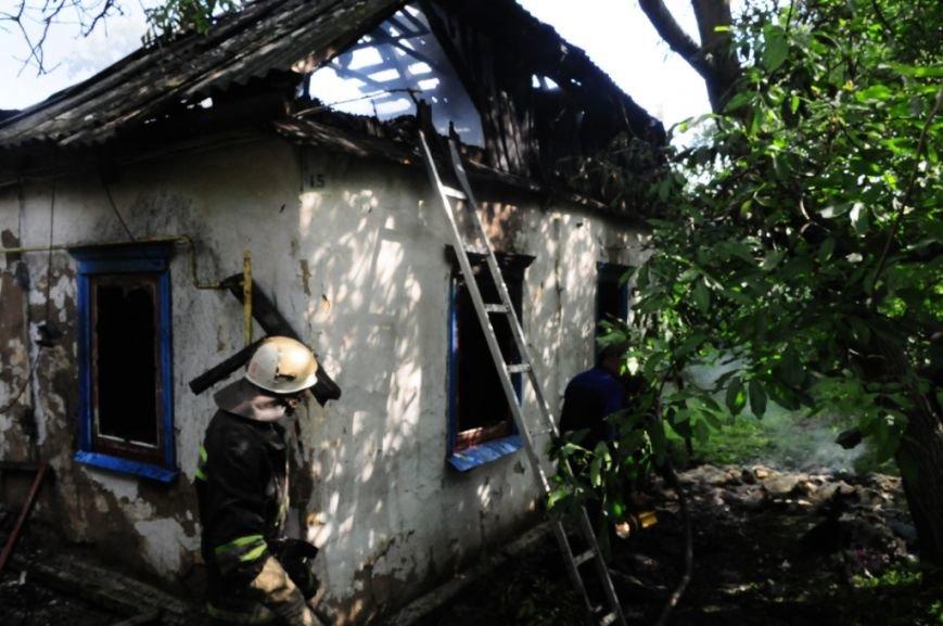 В Мене во время пожара погиб пенсионер, фото-1