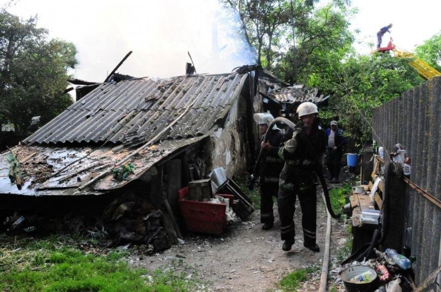 В Мене во время пожара погиб пенсионер, фото-2