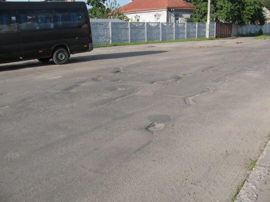 Окраины Кременчуга: чтобы проехать по Крюкову, водители вынуждены разбивать бордюры и нарушать ПДД (ФОТО), фото-4