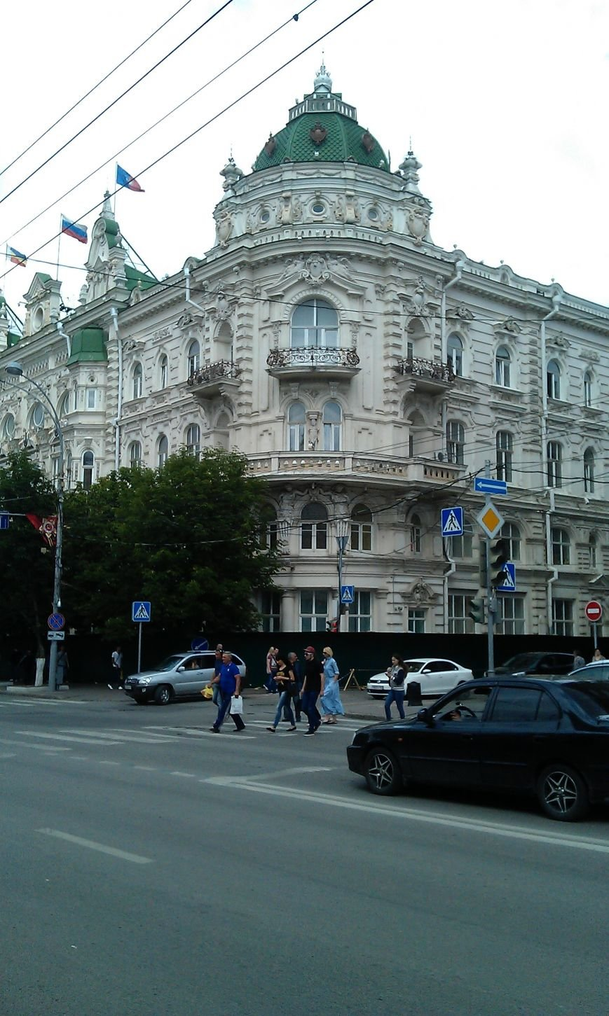 Власть за забором: здание мэрии Ростова оградили для реставрации фасадов, фото-2