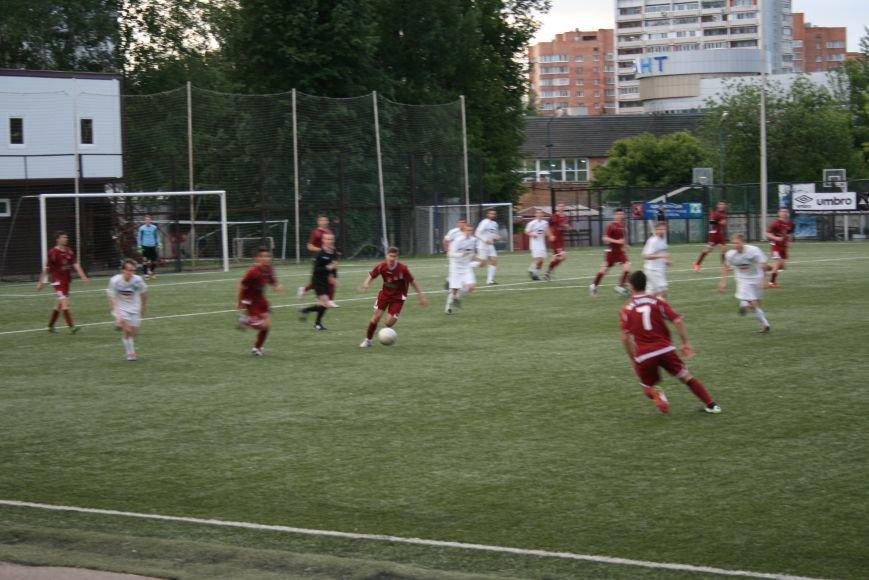 Футбольный матч Троицк-Химки завершился победой соперника, фото-1