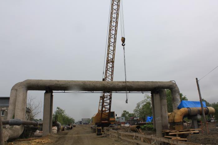 Продолжаются работы по реконструкции дорожной сети Южно-Сахалинска, фото-1