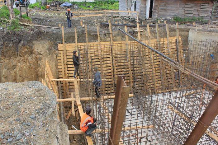 Продолжаются работы по реконструкции дорожной сети Южно-Сахалинска, фото-3