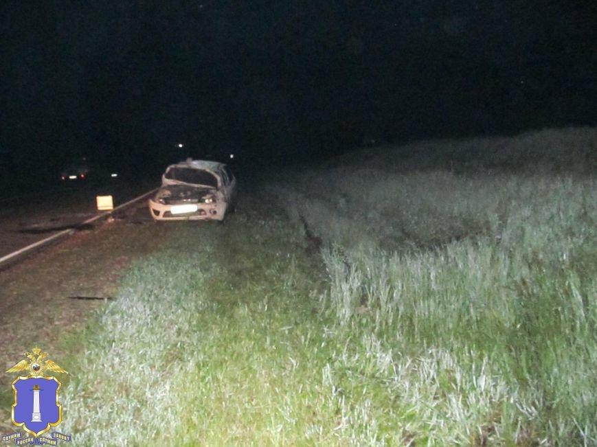 В Карсунском районе водитель «Лады Гранты» погиб, опрокинувшись в кювет, фото-1