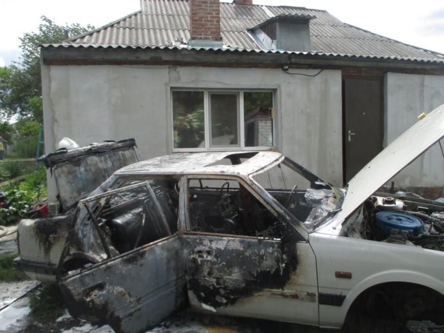 На одной из улиц Кременчуга сгорела Мазда 626 (ФОТО), фото-3