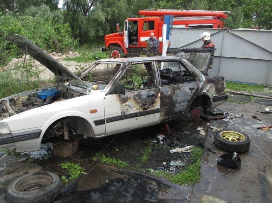 На одной из улиц Кременчуга сгорела Мазда 626 (ФОТО), фото-4