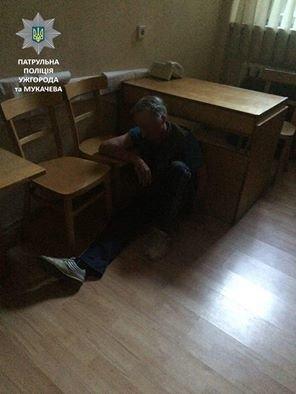 Закарпатські патрульні затримали 58-річного збоченця (ФОТО)