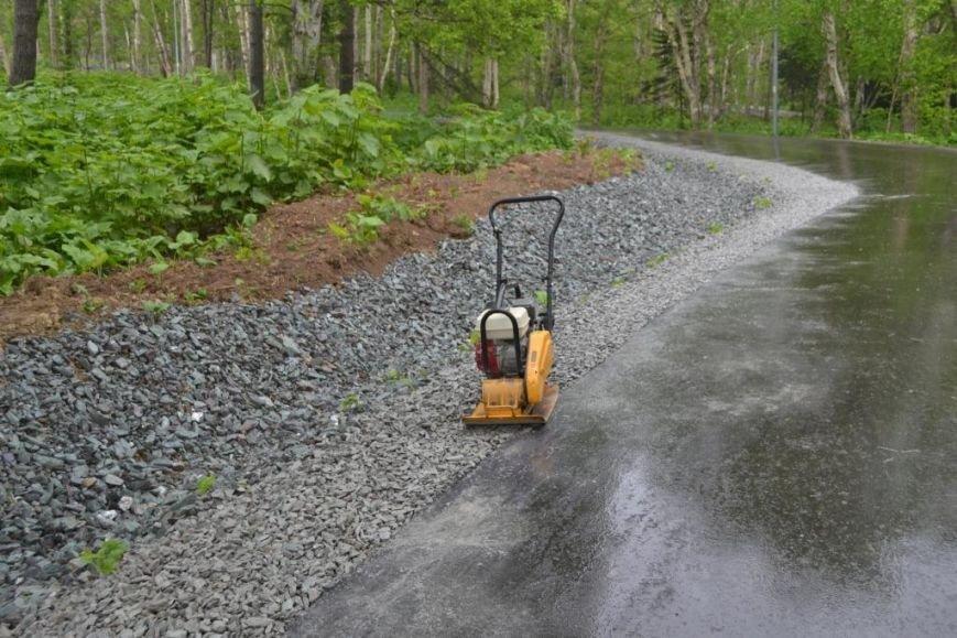 Лыже-роллерную трассу в Южно-Сахалинске сдадут в срок, фото-3