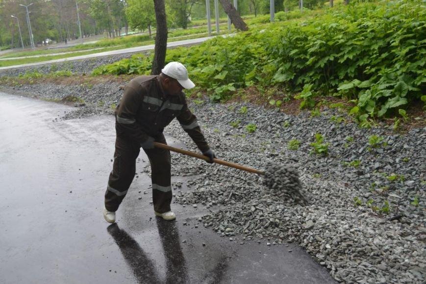 Лыже-роллерную трассу в Южно-Сахалинске сдадут в срок, фото-4