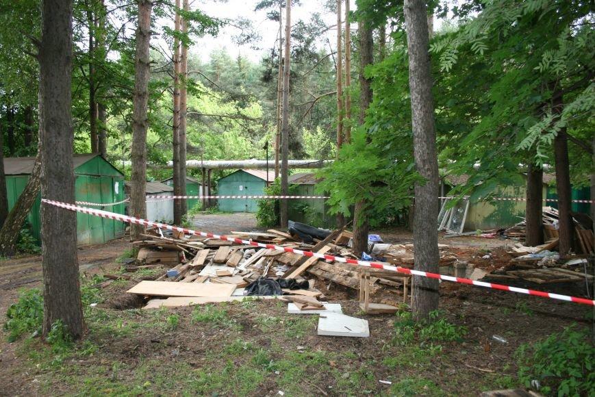 В Троицке стали самовольно сносить гаражи, фото-3