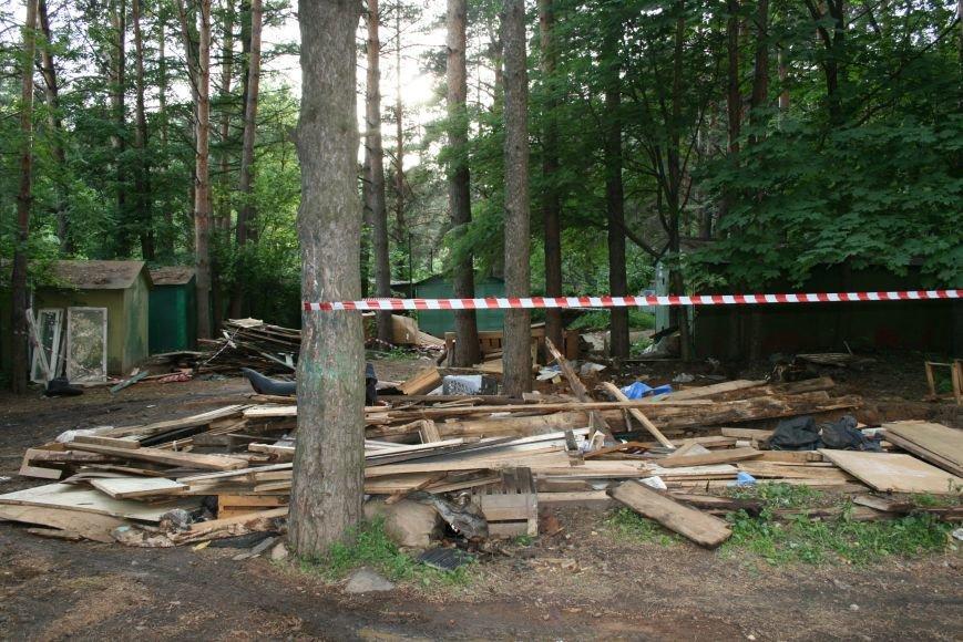 В Троицке стали самовольно сносить гаражи, фото-4