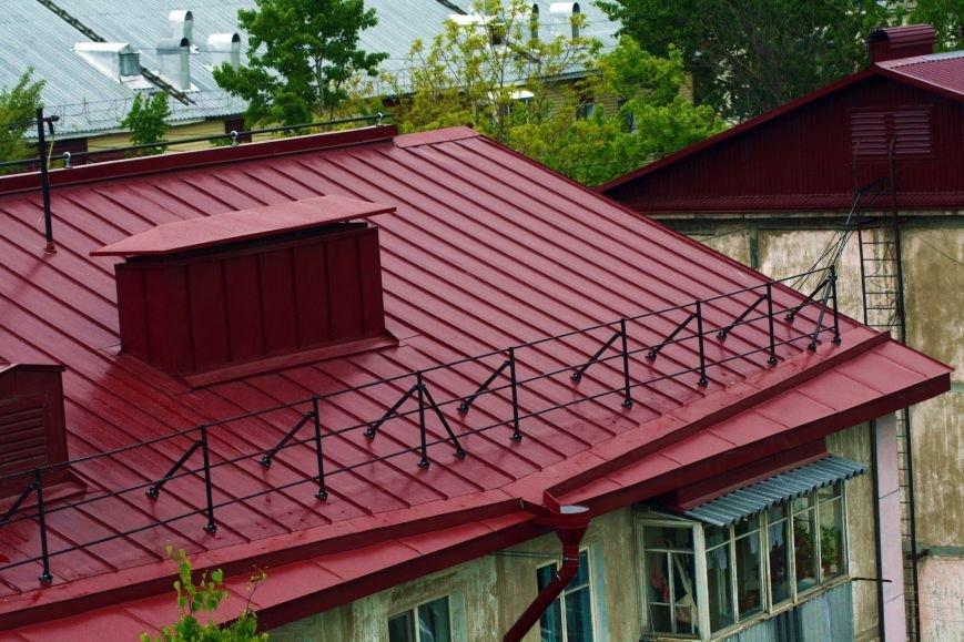 Южно-Сахалинск возвращается к советским технологиям ремонта кровли крыш, фото-6