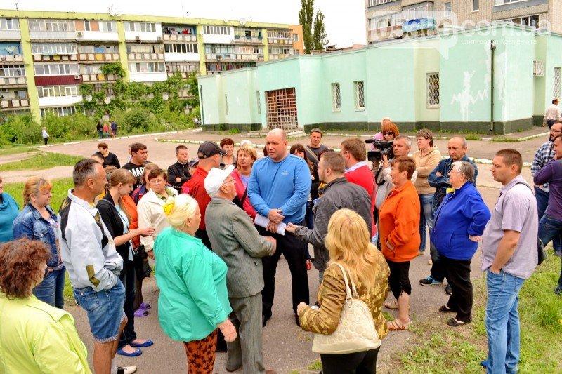 Кременчужане вышли на митинг против незаконного строительства на I Занасыпи (ФОТО, ВИДЕО), фото-1