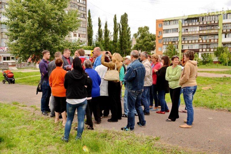 Кременчужане вышли на митинг против незаконного строительства на I Занасыпи (ФОТО, ВИДЕО), фото-2