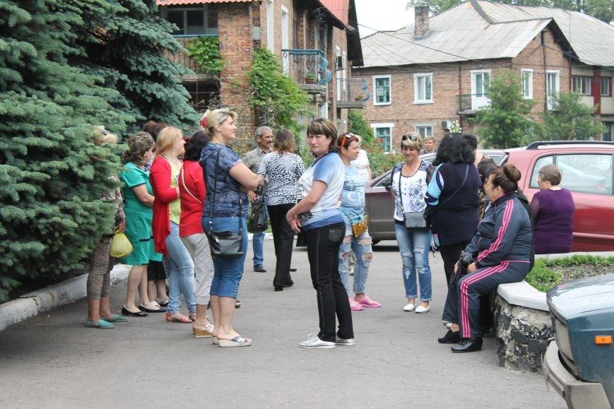 Мітинг біля Новогродівської міської ради, фото-1
