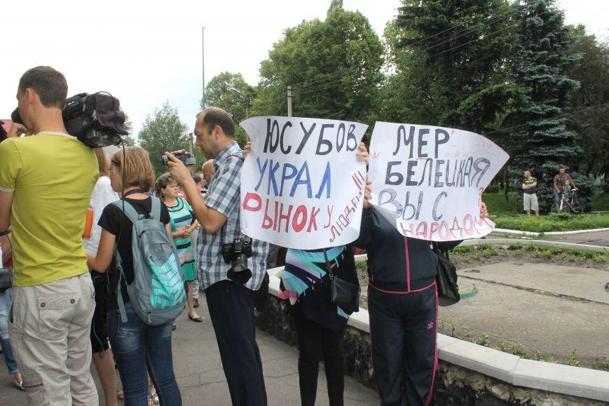 Мітинг біля Новогродівської міської ради, фото-2