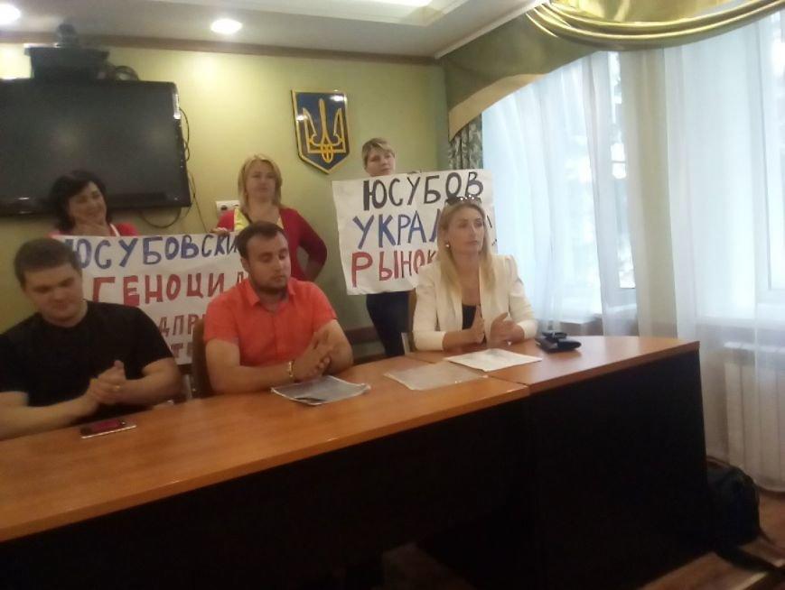 Мітинг біля Новогродівської міської ради, фото-8