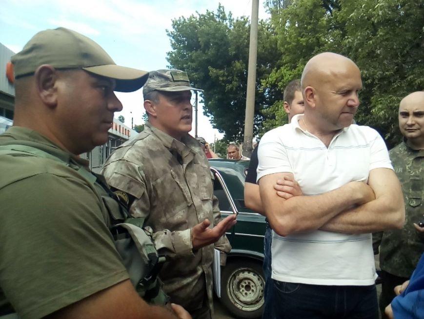 Мітинг біля Новогродівської міської ради, фото-10