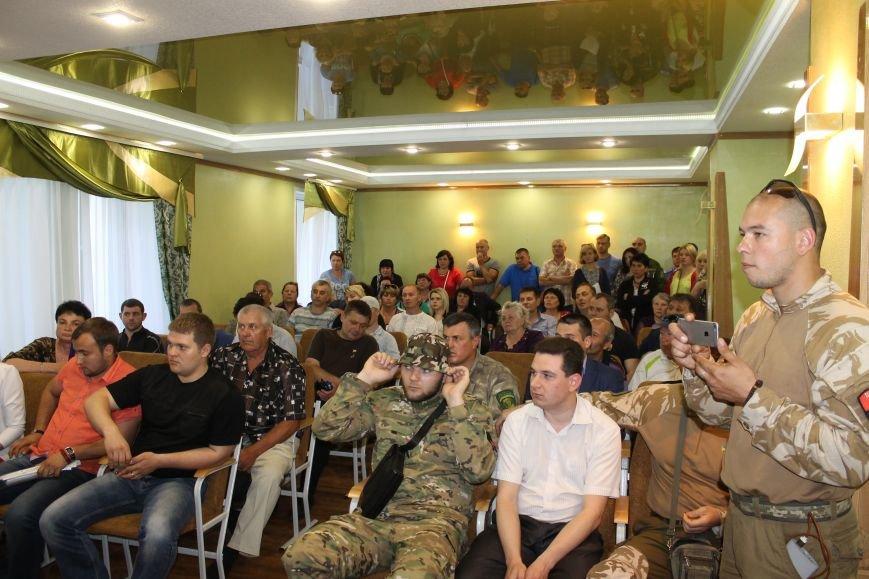 Мітинг біля Новогродівської міської ради, фото-7