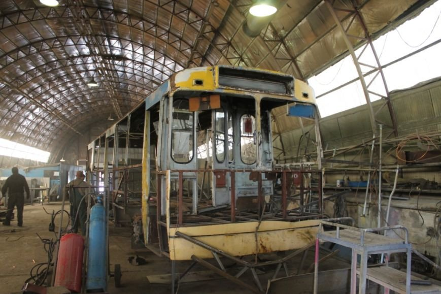Як ремонтують білоцерківські тролейбуси, фото-2