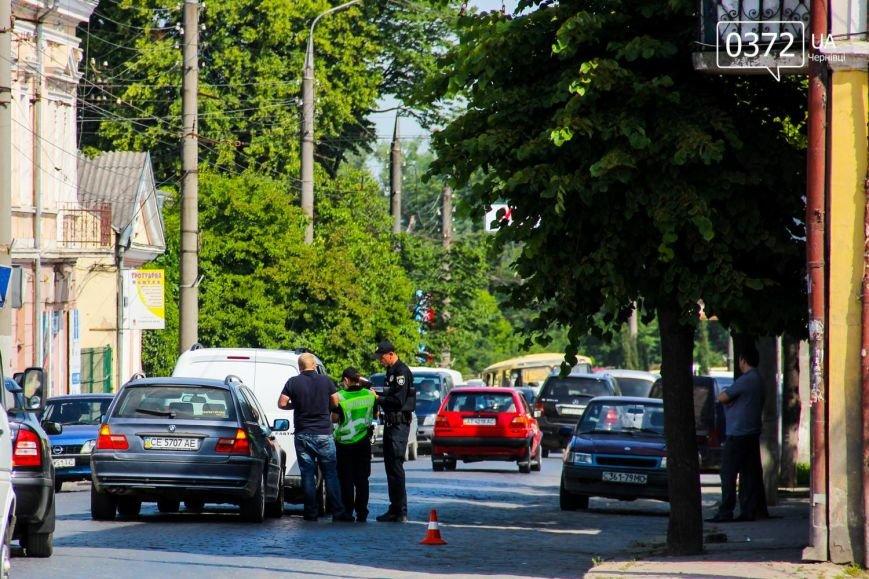 У Чернівцях по вулиці Гагаріна сталася ДТП, фото-1