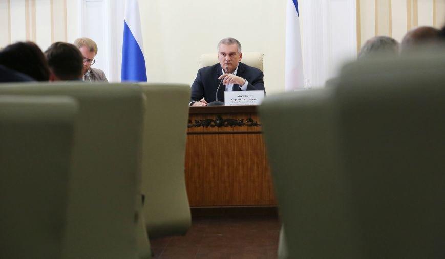 Аксёнов провёл видеоселектор с главами регионов Крыма (ФОТО), фото-2