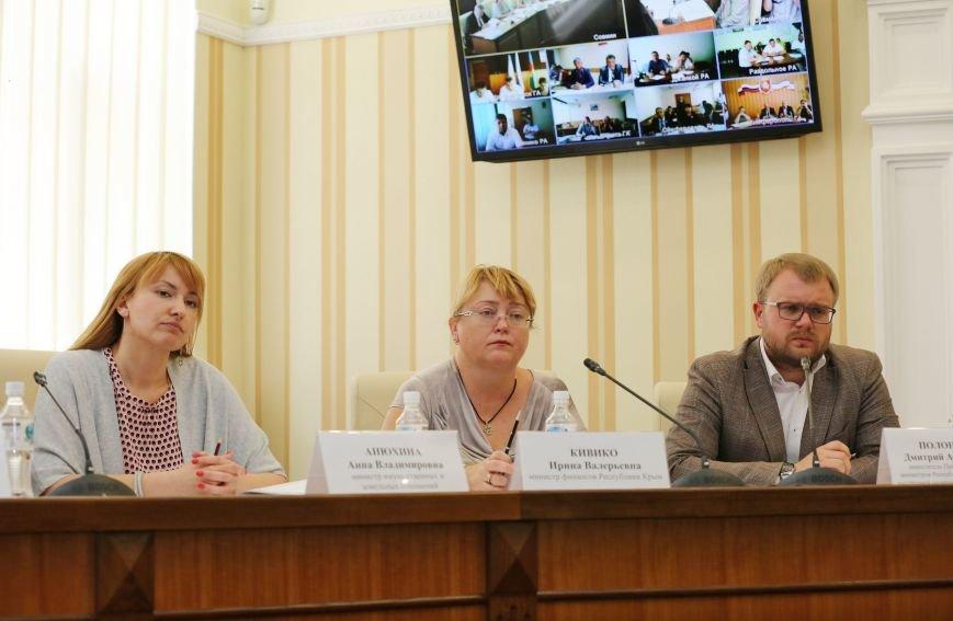 Аксёнов провёл видеоселектор с главами регионов Крыма (ФОТО), фото-1
