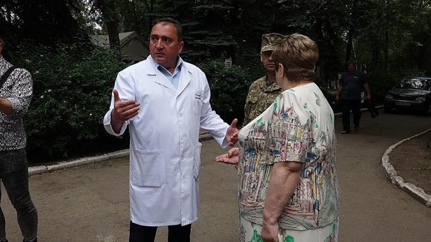 Госпиталю под Мариуполем передали оборудования на 150 тысяч гривен (ФОТО+ВИДЕО), фото-1